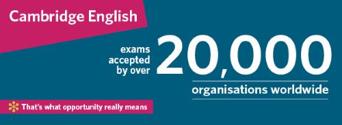 Международные Кембриджские экзамены по английскому для взрослых